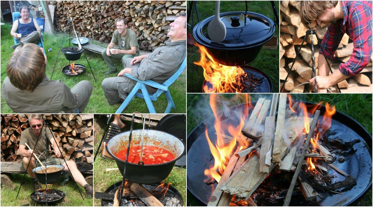 Buitengewoon Koken, alles voor buiten koken op houtvuur!