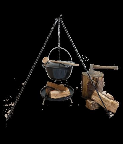 Buitenketel - heksenketel - set van Buitengewoon Koken