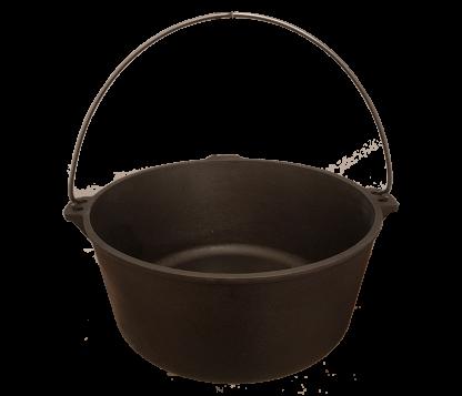 Gietijzeren kookketel 13 liter - Buitengewoon Koken