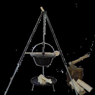Kookketelset (10L) uitschuifbaar van Buitengewoon Koken